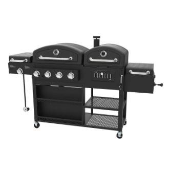 Smoke Hollow 4-in-1 Gas Grill and Charcoal Smoker